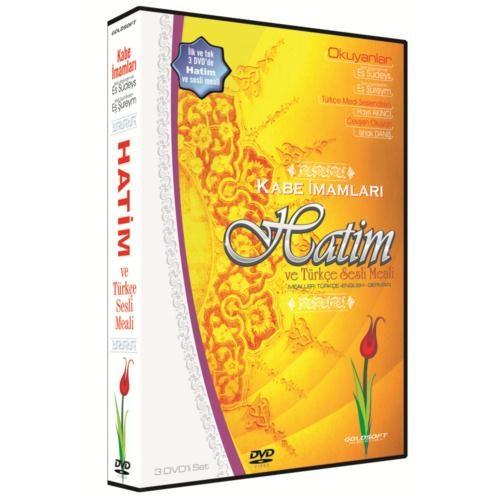 Kabe İmamları Hatim ve Türkçe Sesli Meali (3 DVD)