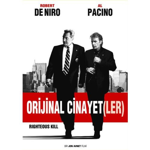 Righteous Kill (Orijinal Cinayetler) (DVD)