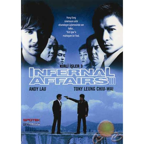 Infernal Affairs 3 (Kirli İşler 3) ( DVD )