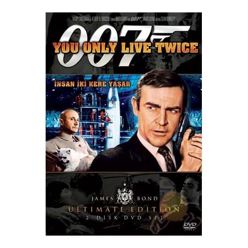 You Only Live Twıce (İnsan İki Kere Yaşar) (James Bond) ( DVD )