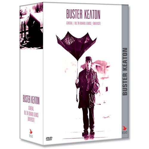 Buster Keaton Set (3 Disk) Üniversite / Bill in Buharlı Gemisi / General Buharlı Gemisi - Üniversite)
