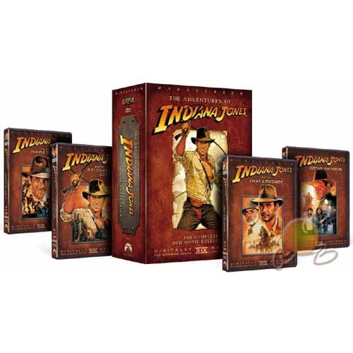 Indiana Jones Trilogy (Raiders Of The Lost Ark - The Temple Of Doom - The Last Crusade) ( DVD )