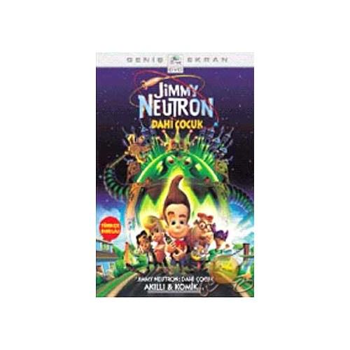 Jimmy Neutron (Dahi Çocuk) ( DVD )
