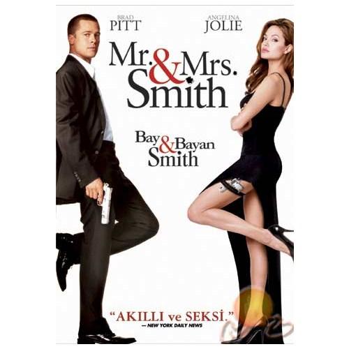 Mr. And Mrs. Smıth (Bay ve Bayan Smıih) ( DVD )