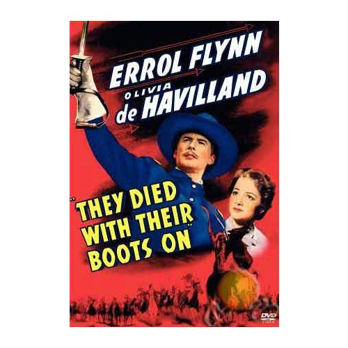 They Died With Theır Boots On ( DVD )