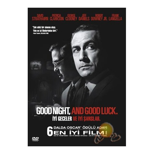 Good Night And Good Luck (iyi Geceler ve İyi Şanslar)