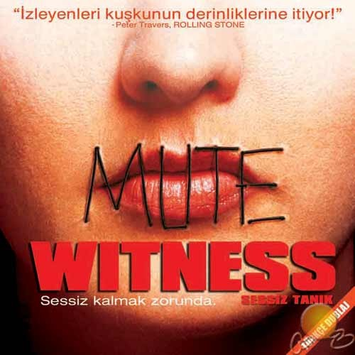 Sessiz Tanık (Mute Witness) ( VCD )
