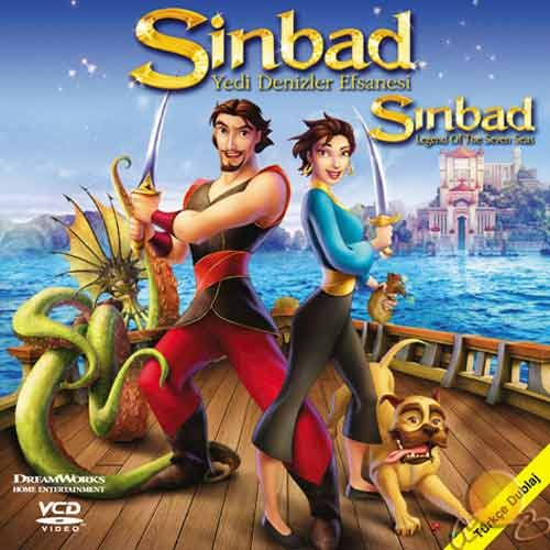 Sinbad: Yedi Denizler Efsanesi (Sinbad: Legend Of The Seven Seas) ( VCD )