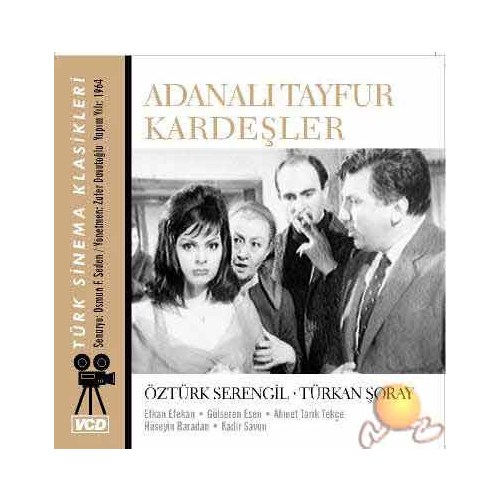 Türk Sinema Klasikleri (Adanalı Tayfur Kardeşler) ( VCD )