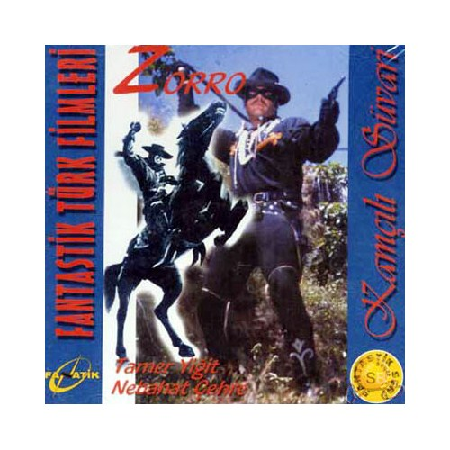 Kamçılı Süvari Zorro (Fantastik Türk Filmi) ( VCD )