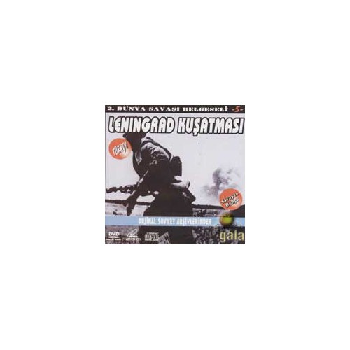 "2. Dünya Savaşı Belgeseli 5 ""leningrad Kuşatması"" ( VCD )"