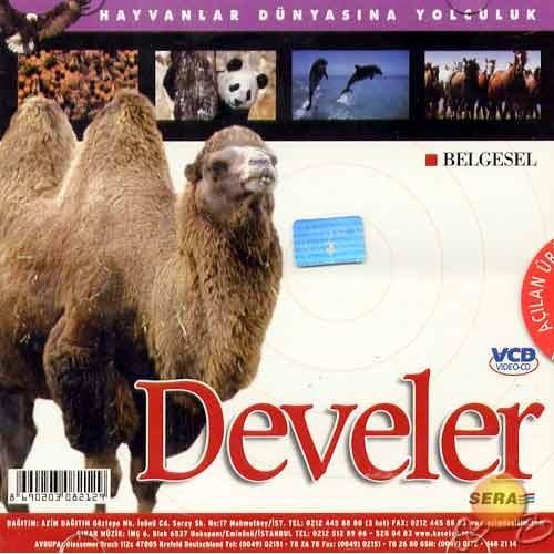 Hayvanlar Dünyasına Yolculuk (Develer) ( VCD )