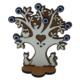 Myros Myros Nazarlı Dekoratif Ahşap Masaüstü Figürü