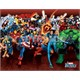 Marvel Heroes Attack Mini Poster