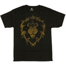 World of Warcraft Alliance Spray T-shirt  - L GE1451L