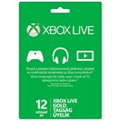 Xbox One / Xbox 360 Live 12 Ay Gold Üyelik
