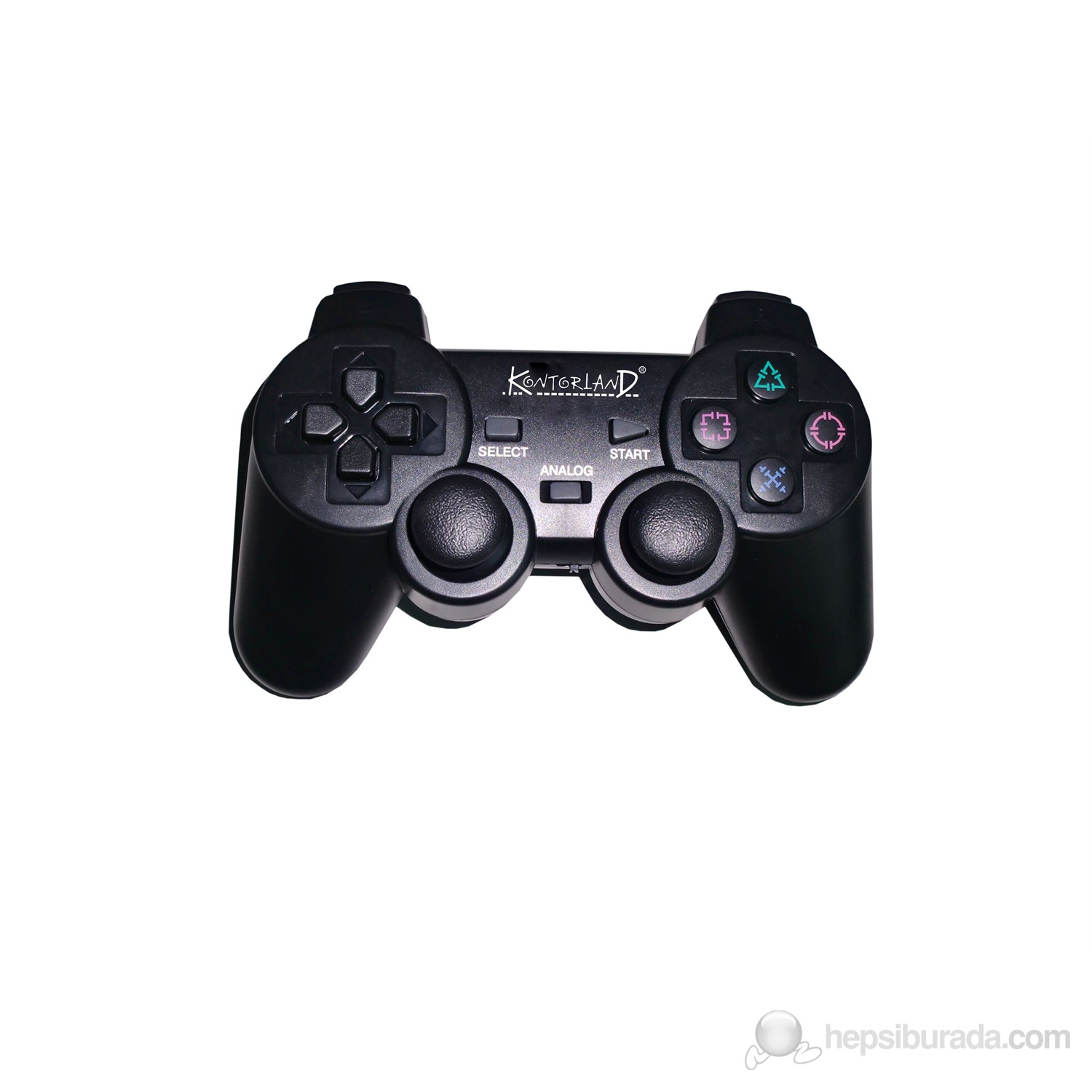 Kontorland PS-3002 2.4 Hz Wireless Analog Game Pad PS3/PS2/PC USB