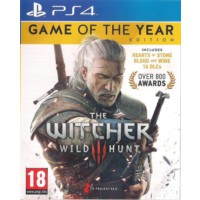 PS4 The Witcher 3: Wild Hunt - Game Of The Year Edition