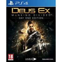 PS4 Deus Ex : Mankind Divided Steelbook Edition