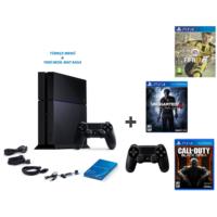 Sony Ps4 500 Gb Oyun Konsolu + Fifa 2017 ( Türkçe ) + Uncharted 4 ( Türkçe Dublaj ) + Cod Black Ops 3 + 2. Kol