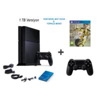 Sony Playstation 4 1 Tb Oyun Konsolu + Fifa 2017 ( Türkçe ) + 2. Kol