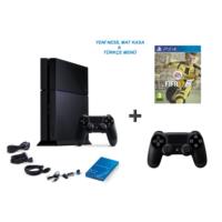 Sony Playstation 4 500 Gb Oyun Konsolu + Fifa 2017 ( Türkçe ) + 2. Kol