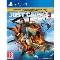 Square Enıx PS4 Just Cause 3 Medici Pack