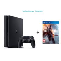 Sony Ps4 Slim 500 GB Cuh - 2016A Oyun Konsolu + Battlefield 1 (Türkçe) Ps4 Oyun