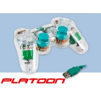 Platoon Pl-2525 Şeffaf Yeşil Oyun Kolu