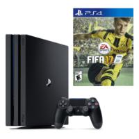 Sony Playstation 4 Pro 1 Tb ( Ps4 Pro ) + Ps4 Fifa 2017