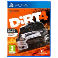 Dirt 4 Day One Edition Ps4