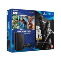 Sony Ps4 1 TB Slim Konsol + Ps4 Uncharted Collection + Ps4 The Last of Us ( Sony Eurasia )