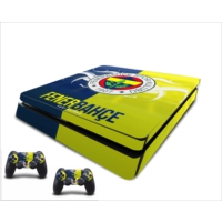 StickerMarket PS4 Slim Fenerbahçe 3 Sticker Seti