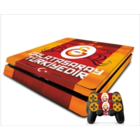 StickerMarket PS4 Slim Galatasaray 5 Sticker Seti