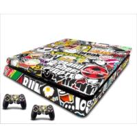 StickerMarket PS4 Slim Stickerbomb Sticker Seti