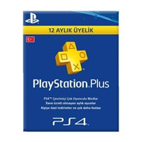 Playstation 4 Psn Plus Abonelik Kartı