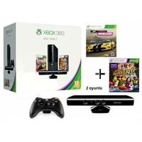 Xbox 360 4 Gb Konsol Kinect Sensör Forza Horizon Kinect Adventures Oyun