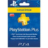 Sony Playstation Psn Plus Türkiye 3 Ay Üyelik Kartı