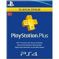 Sony Playstation Psn Plus Türkiye 12 Ay (1 Yıl) Üyelik Kartı
