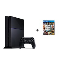 Sony Playstation 4 500Gb Oyun Konsolu + Gta 5 Ps4 Oyun