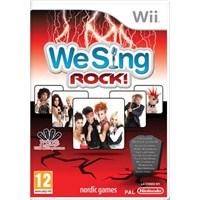 Nintendo OYUN Wii We Sing Rock solus