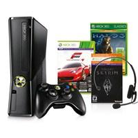 Microsoft 250gb Konsol Forza 4 + Skyrim + Halo 3 + 1 Ay Live Gold Paket Xbox 360 Konsol