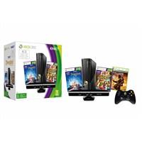 Microsoft 4gb Kinect Konsol + Kinect Adventures + Kinect Disneyland + Gears Of War 2 + 1 Ay Live Gold Paket