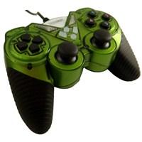 Trilogic GP424 Analog USB PC Uyumlu Gamepad (Yeşil)