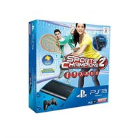 PS3 500 GB Konsol + Sports Champion 2 Oyun+ PS Eye Camera + PS Motion Controller