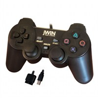 Jwin PS2/PS3/USB 1335 Dual Shock Gamepad