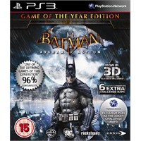 Batman Arkham Asylum Goty Essentails PS3