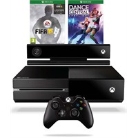 Xbox One 500 gb + Kinect Sensör + Fifa 15 + Dance Central Spot Light