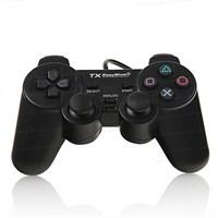 TX EasyShot Çift Analog , Dualshock Titreşim Destekli USB PC Gamepad (TXACGPAD03)