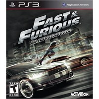 Fast And Furious Showdown Ps3 Oyun